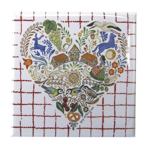 Magnet Coeur d'Alsace