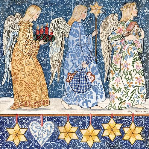 Carte Trois anges sont venus