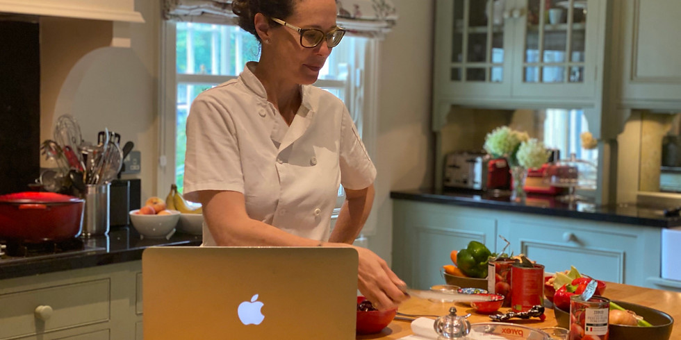 Teen Cook Around the World Online Camp (ages 12+) - 4 days