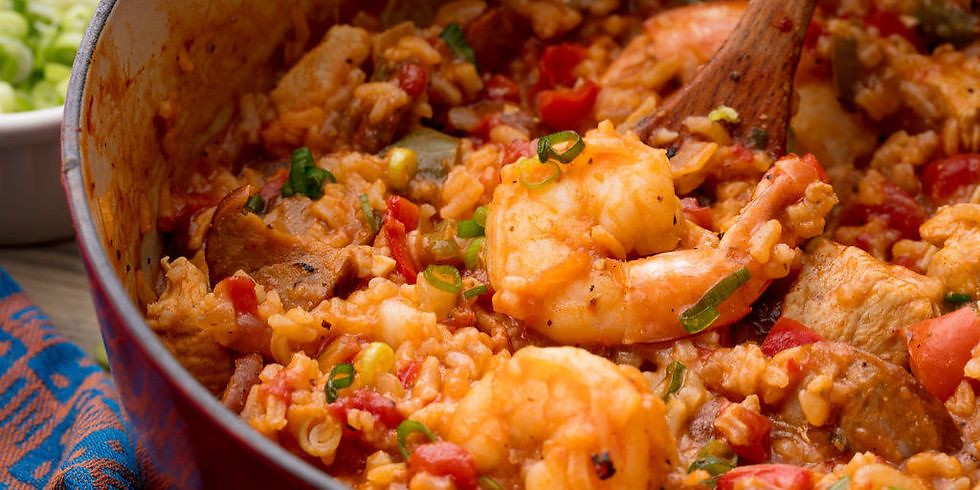 Mardi Gras Online Cookalong (adults)