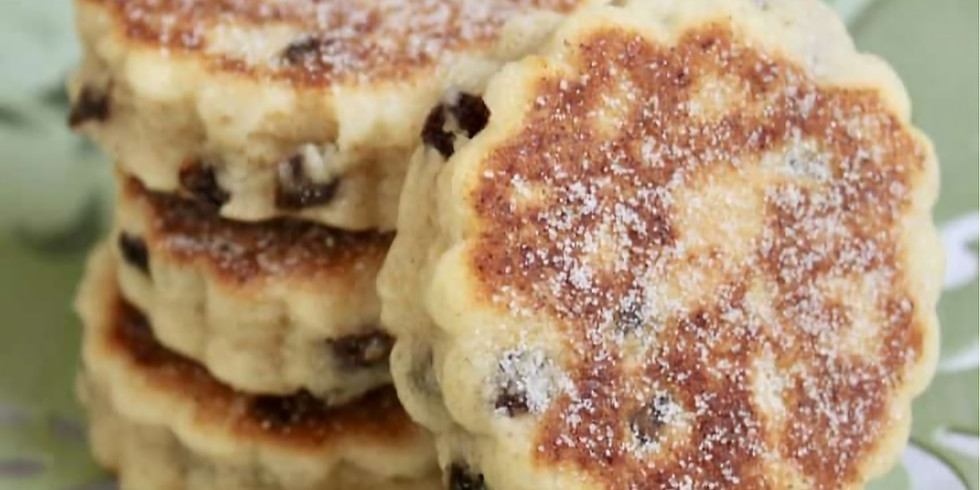Teen Online Baking - Welsh Cakes (ages 12+)