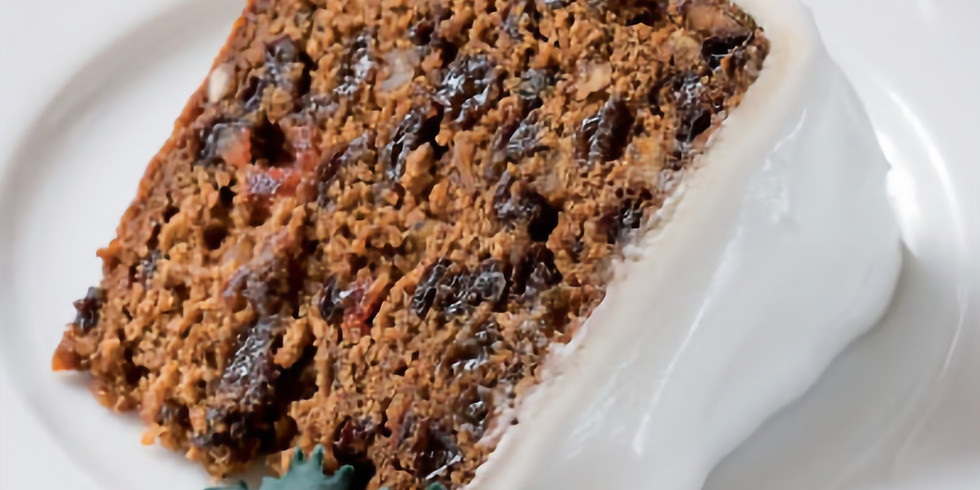 Free - Christmas Cake Virtual Bakealong
