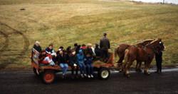 Farm wagon Ride