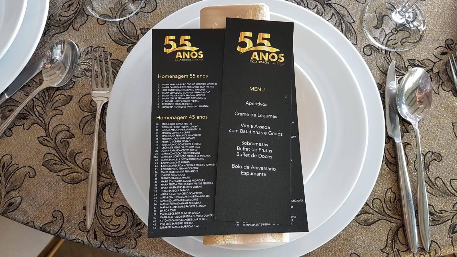 55º Aniversário CCD Braga