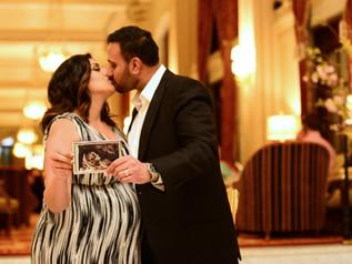 Pregnancy Shoot at the Willard Hotel, Washington DC
