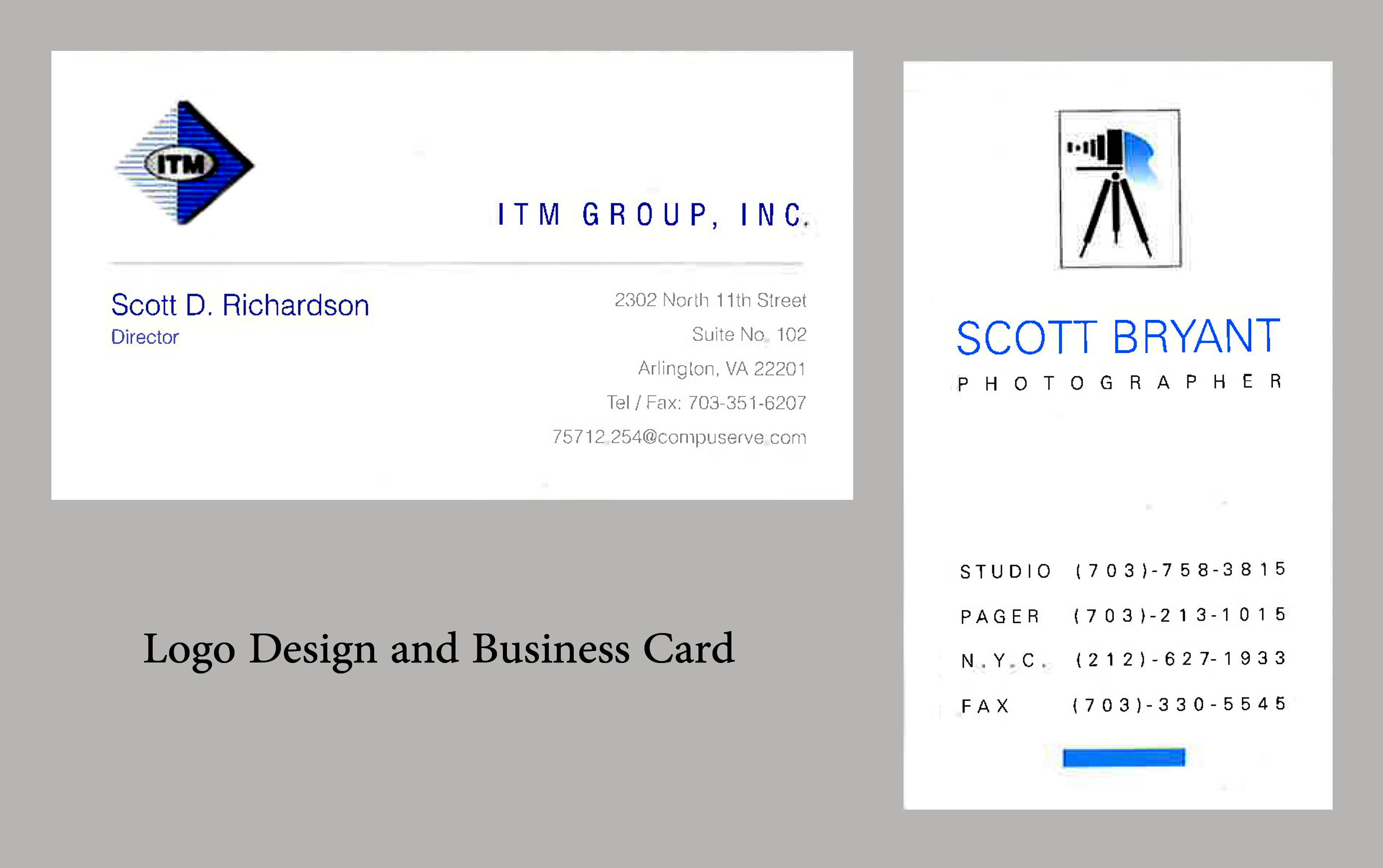 Logo and Business Cards and Stationary