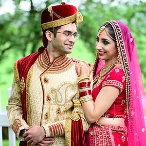 Sunaina & Ani-First Look-Portraits-Baraat-Milni