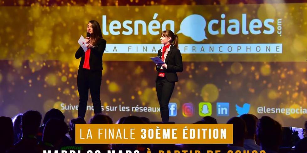 Les Négociales : la finale francophone