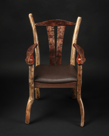Rustic Accent Chair