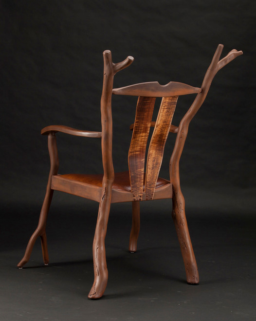 Rusted Rustic Accent Chair