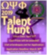 2019 Talent Hunt Flyer Final (1).JPG