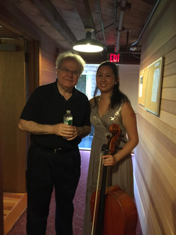 with Emanuel Ax, piano