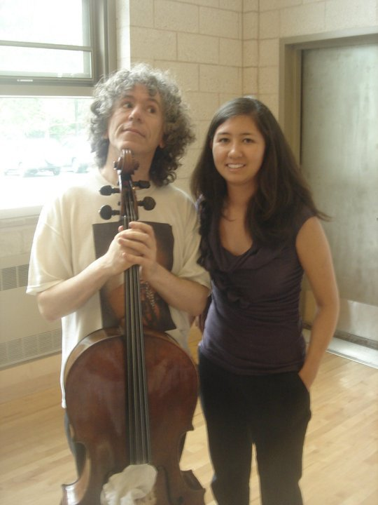 with Steven Isserlis, cello