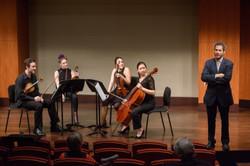 with Nicholas Mann, violin