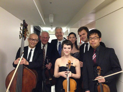 with Norman Fischer, cello