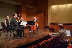 Masterclass with David Geber, cello