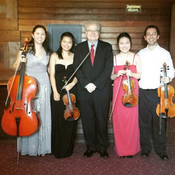 Emanuel Ax with the Tobey Quartet