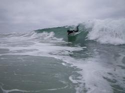 Bodyboarding in San Diego