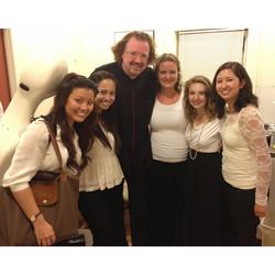 with Stephane Deneve, conductor