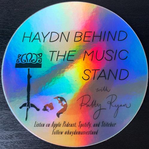 Logo Holographic Sticker