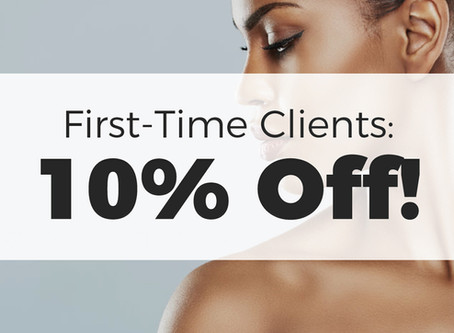 First-Time Clients Get 10% Off!