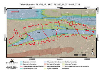 Tallow Project Map