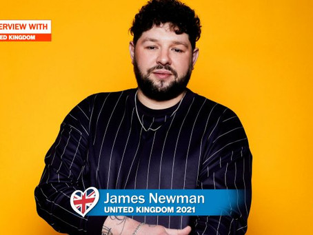 James Newman: 'My Other Eurovision Song Will Be Out Soon'