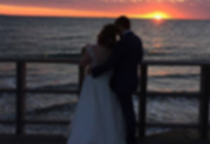 WA Sunset wedding | Happy Heart Celebrations
