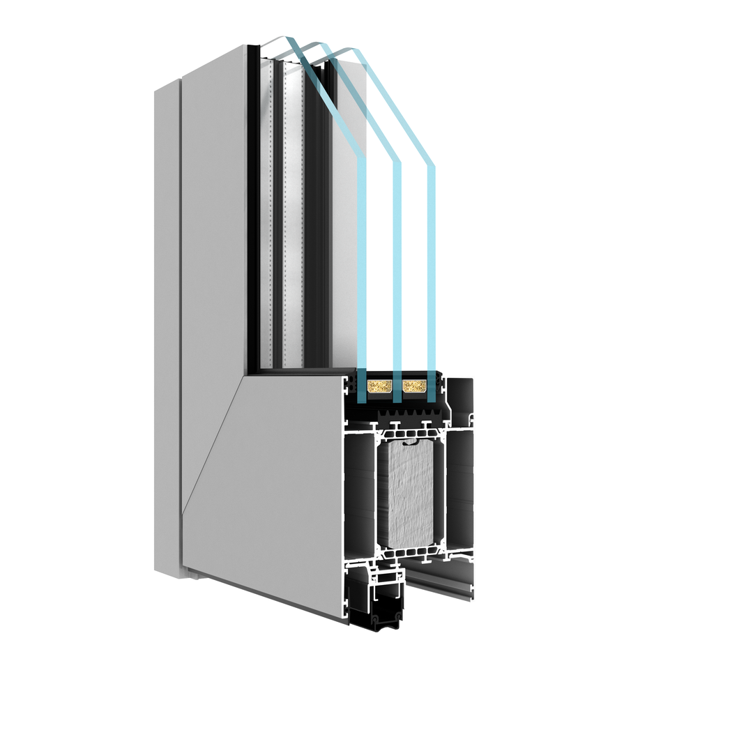 DA-90Thermo Doors Profile