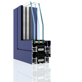 Aluminium Window DA-90 Thermo