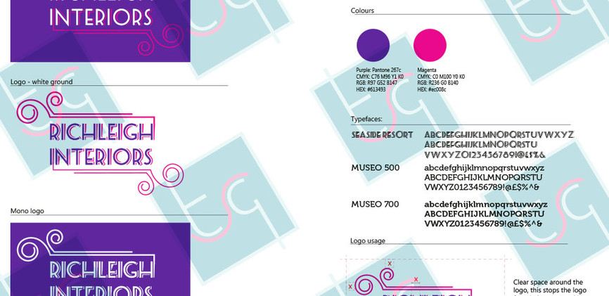 RICHLEIGH INTERIORS BRAND GUIDELINES (we