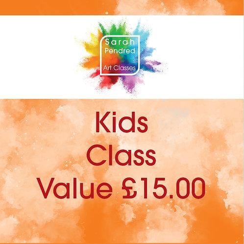 Kids Class Voucher