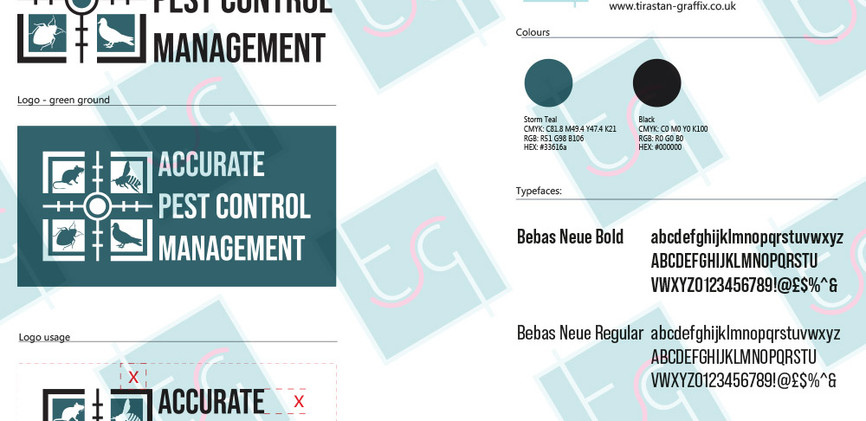 ACCURATE PEST CONTROL BRAND GUIDELINES (
