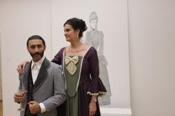 Farshido and the curator