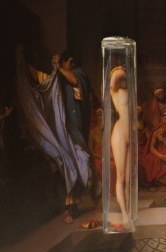 Phryne devant l'Areopage (Phryne before the Areopagus)