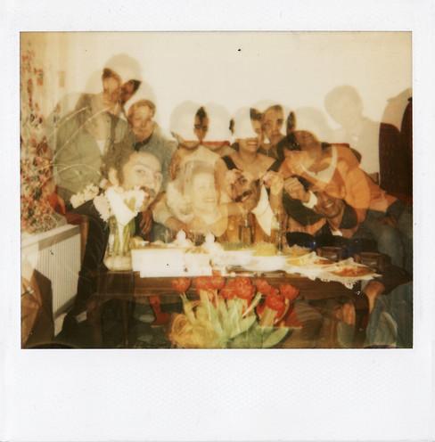 Double Exposure Polaroid