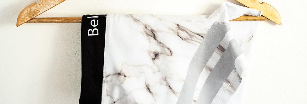 Marble White Short