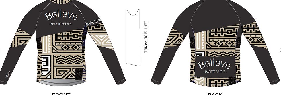 Tribal power, MTB Cycling Long Sleeve Shirt
