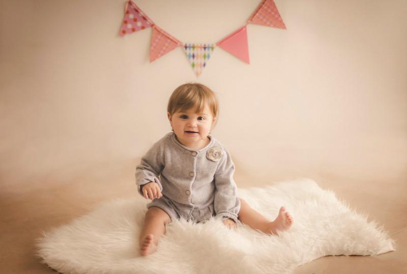 Miranda 11 mesi di cicciosità - Fotografo bambini Trieste