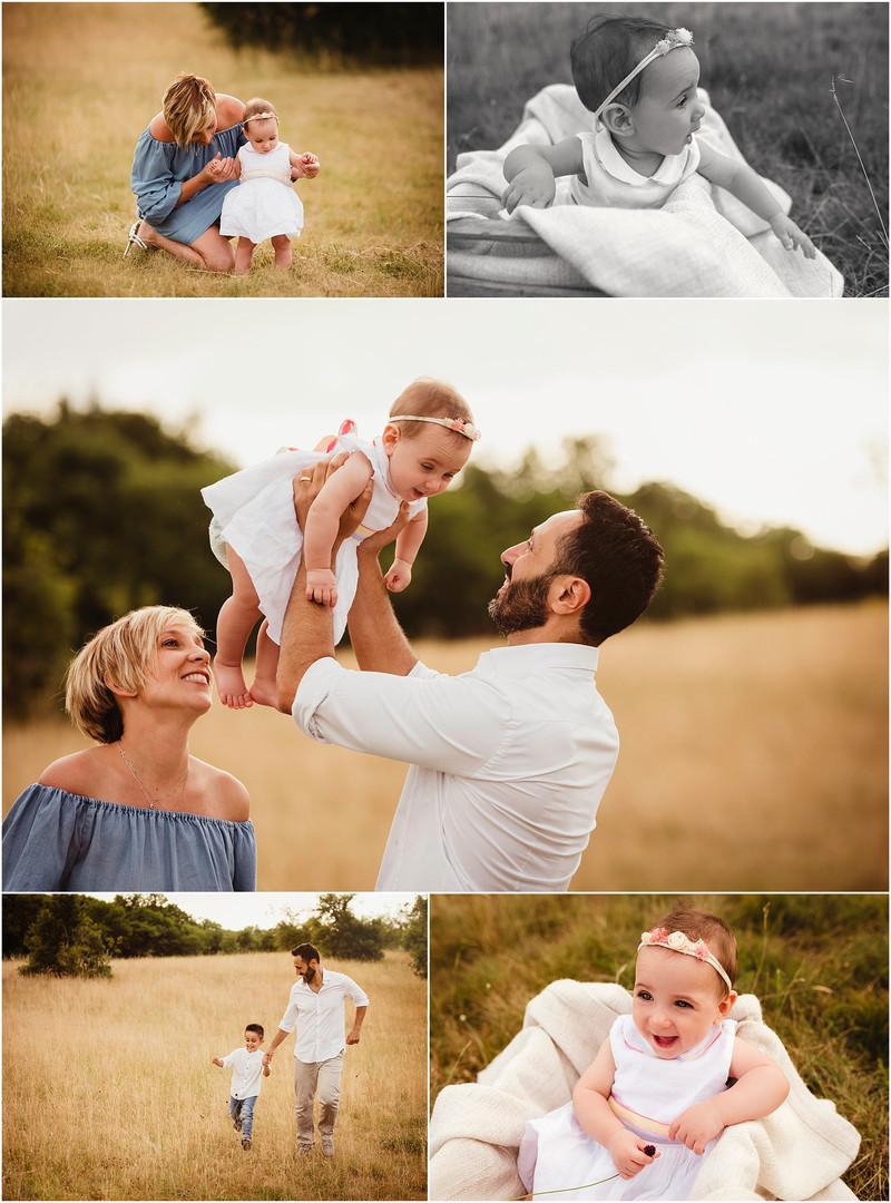 Simone e la sua famiglia da Roma - fotografo bambini e famiglie Trieste