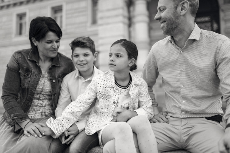 Una meravigliosa famiglia da Budapest | fotografo bambini e famiglie Trieste
