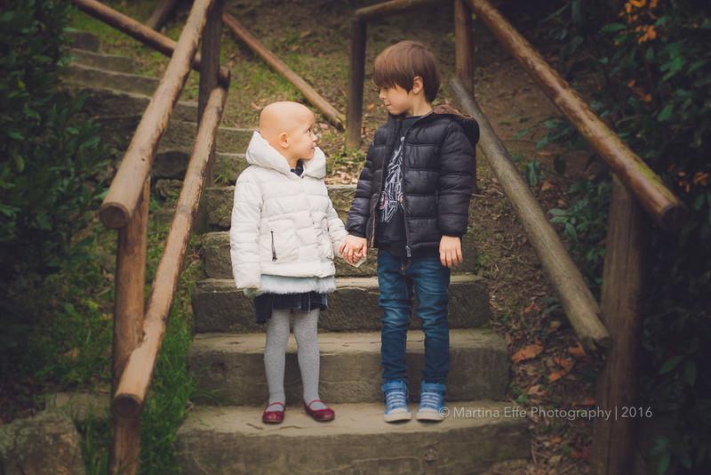 Nina e Adrian dalla Spagna   fotografa bambini Trieste