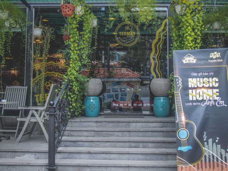 Teemay Coffee, địa điểm của những sự kiện lung linh cùng những người nổi tiếng
