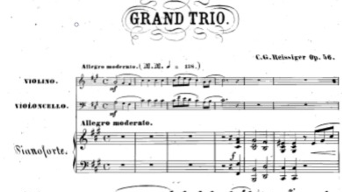 Reissiger Piano Trio No.4