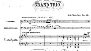 Reissiger Piano Trio No.4