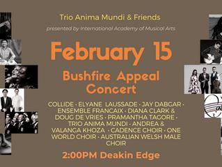 Bushfire Appeal Concert!!!