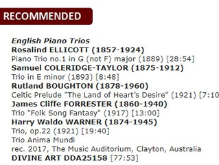 Great reviews for latest CD