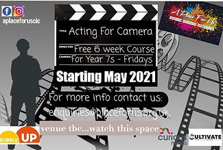 Bubble Up-Acting for Camera May 2021 Ima