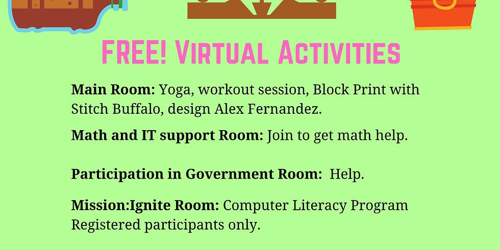 Virtual Saturday Academy