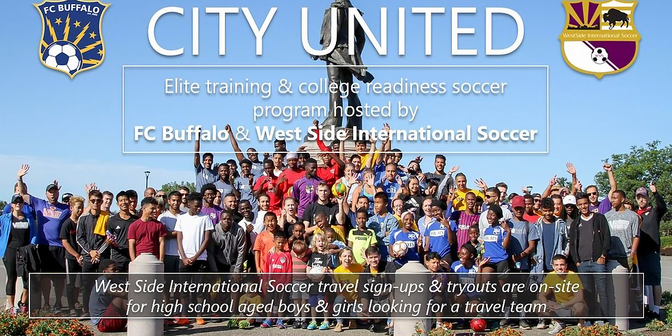 City United: Soccer Training and Travel Tryouts